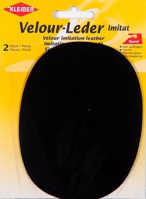 w w chtersh user gmbh velour leder imitat flicken zum aufb geln schwarz. Black Bedroom Furniture Sets. Home Design Ideas