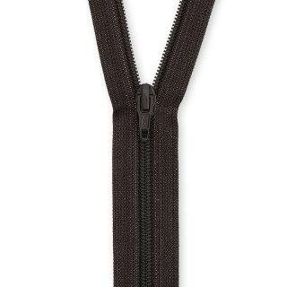 YKK Kunststoff Rock Hosen Reißverschluss 20cm schwarzbraun 916