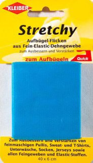 Stretchy-Bügel-Flicken, türkis