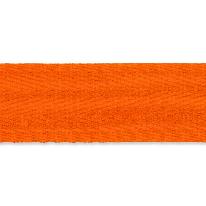 Baumwoll Nahtband 20 mm - orange
