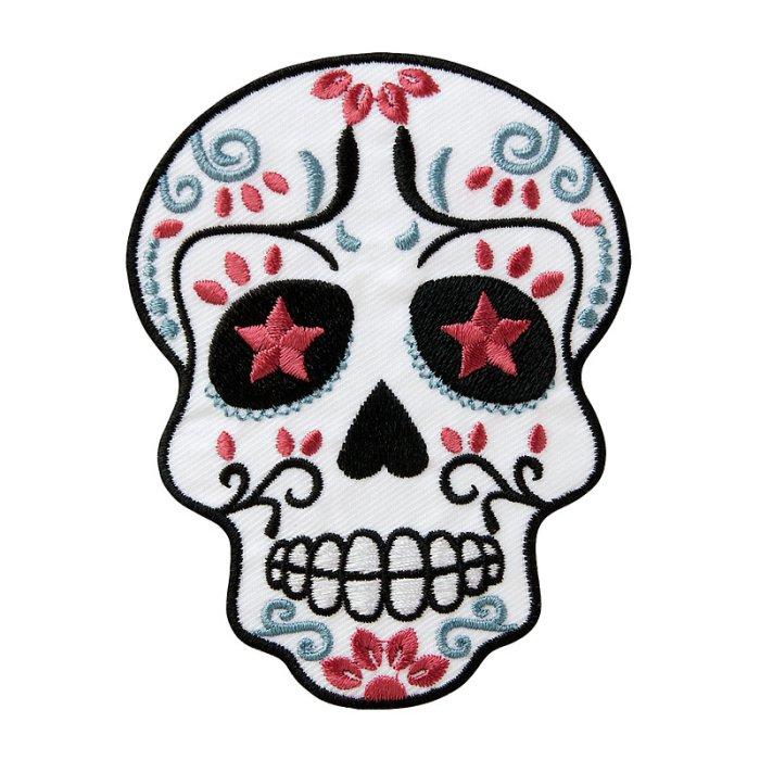 W Wächtershäuser Gmbh Totenkopf Rosa Weiß 7 3 X 9 4 Cm
